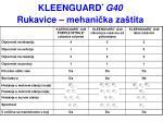 kleenguard g40 rukavice mehani ka za tita