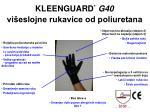 kleenguard g40 vi eslojne rukavice od poliuretana