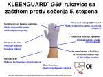 kleenguard g60 rukavice sa za titom protiv se enja 5 stepena