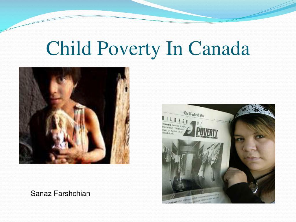 child poverty in canada l.