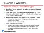 resources in workplans13
