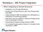 workplans ms project integration17