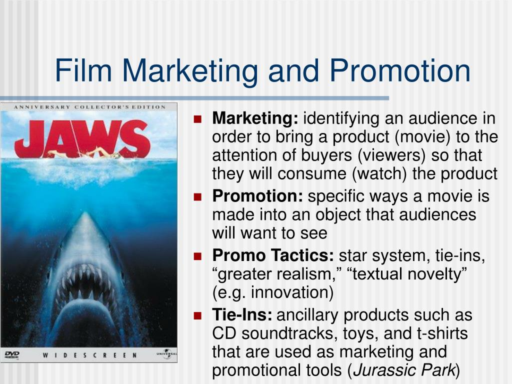 Film Marketing and Promotion