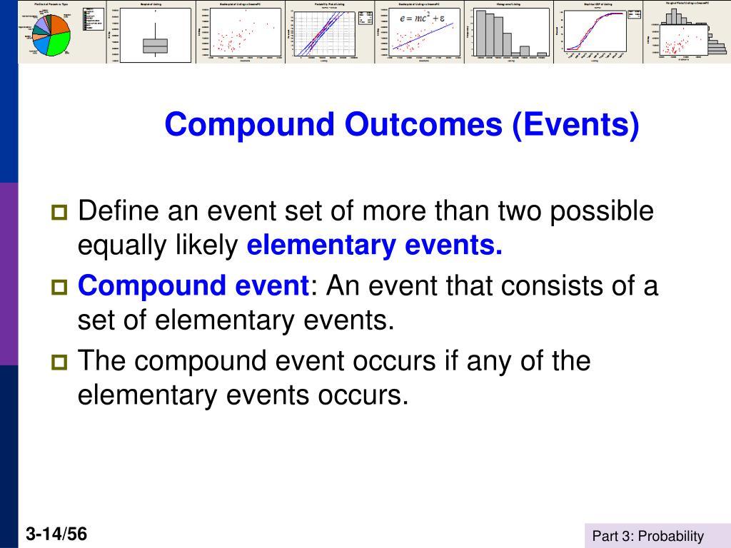 Compound Outcomes (Events)