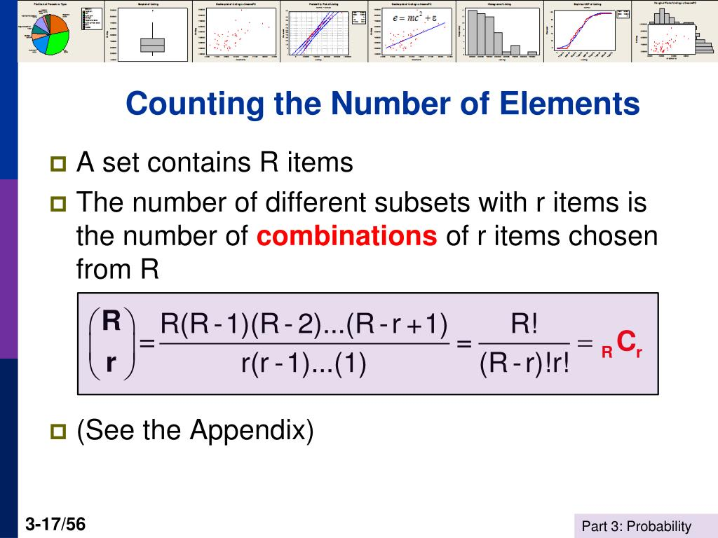 Counting the Number of Elements