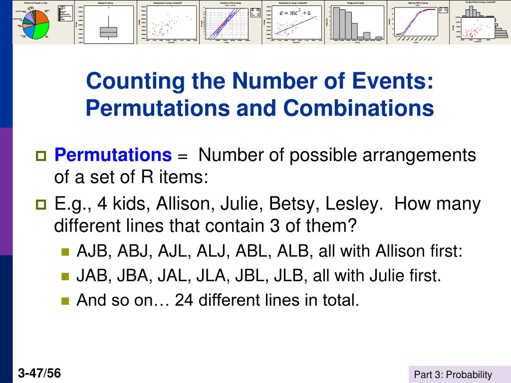 Counting the Number of Events: