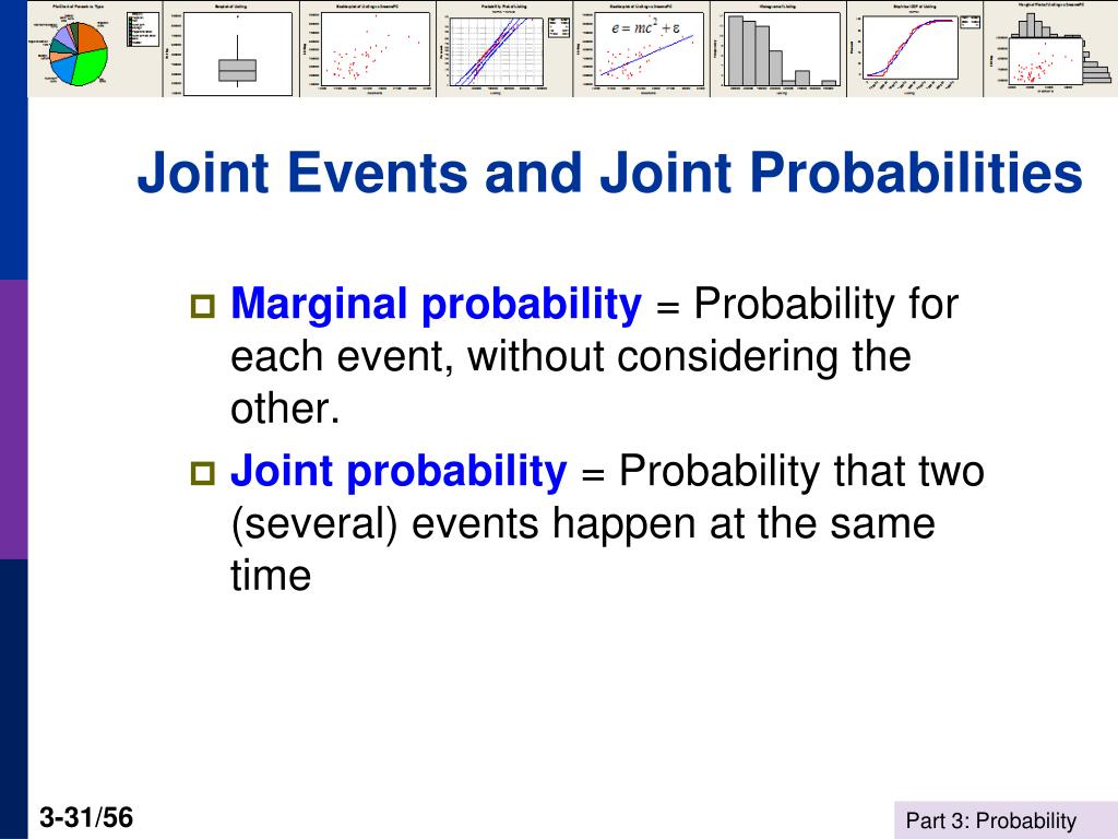 Joint Events and Joint Probabilities
