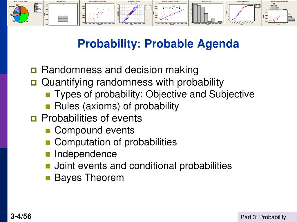 Probability: Probable Agenda