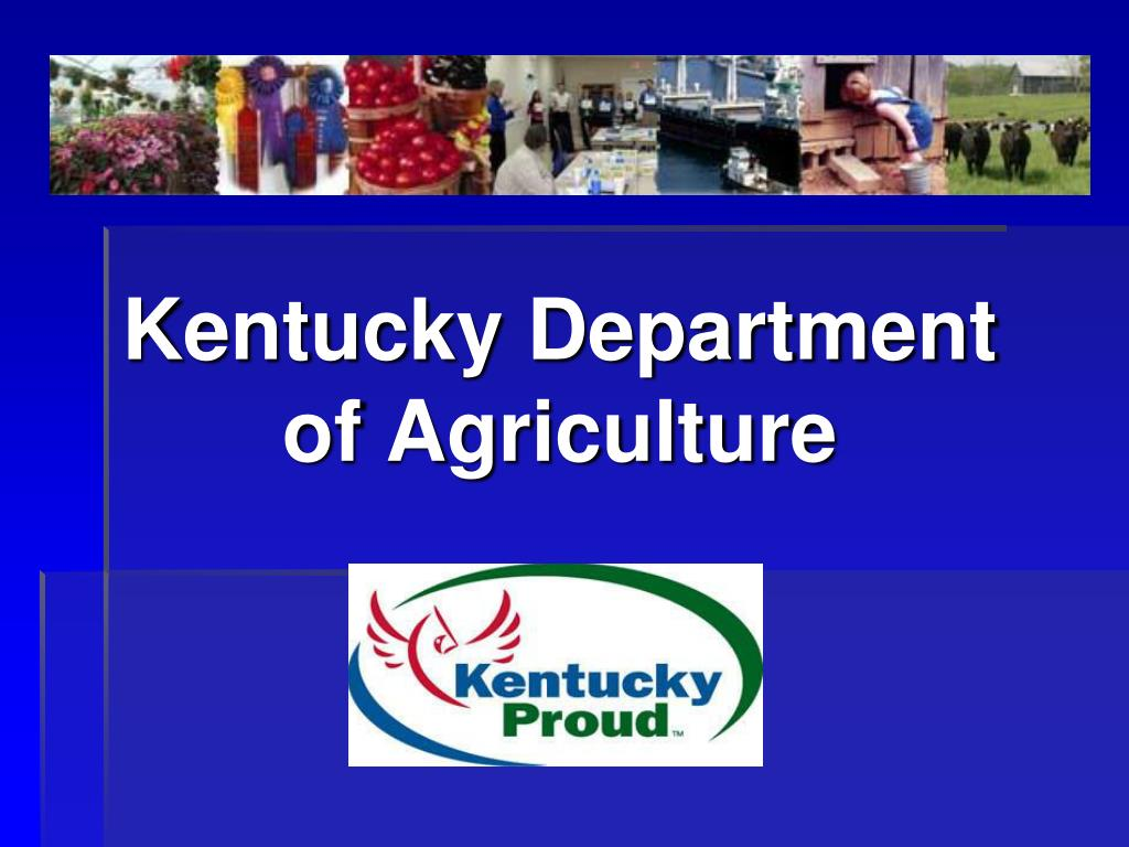 kentucky department of agriculture l.