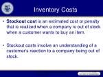 inventory costs19