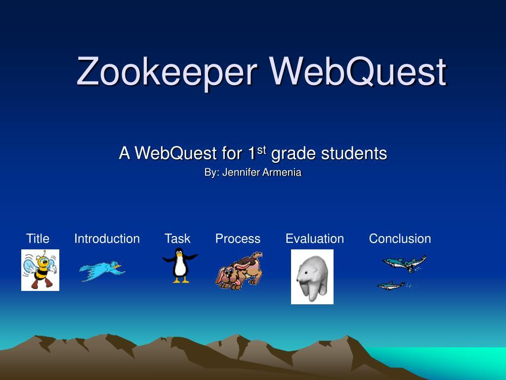 zookeeper webquest l.