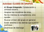 actividad clases de grupos41