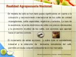 realidad agropecuaria nacional15