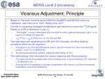 vicarious adjustment principle