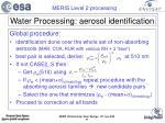 water processing aerosol identification31