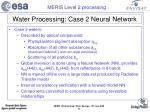 water processing case 2 neural network