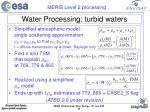 water processing turbid waters28