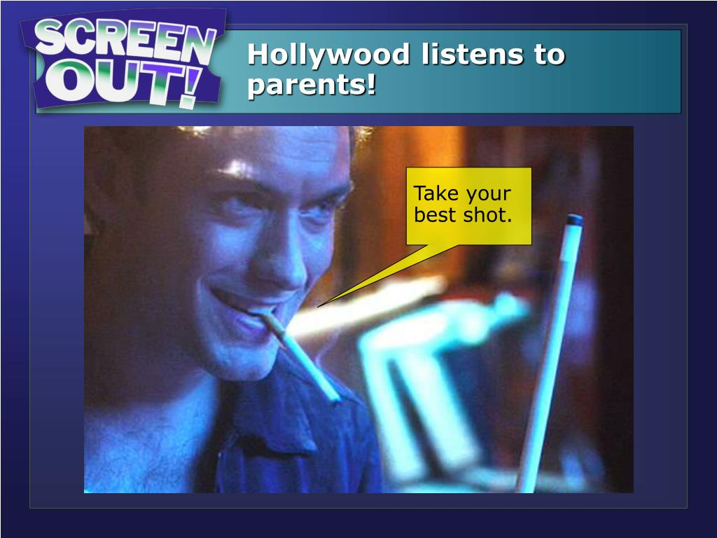 Hollywood listens to parents!
