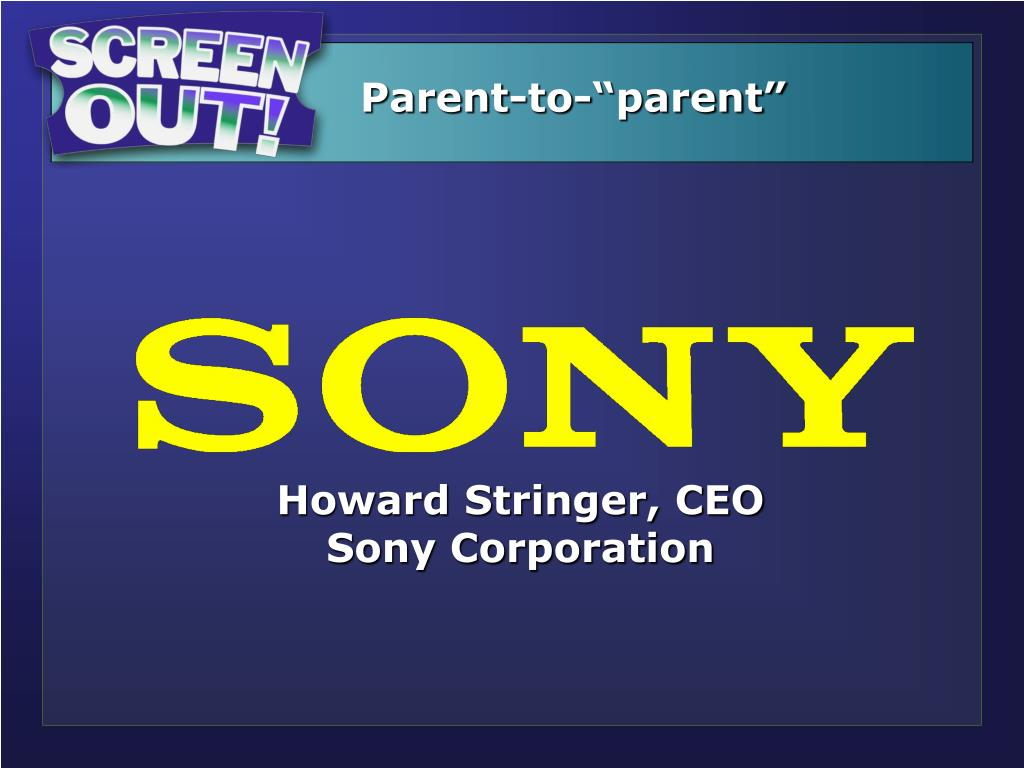 """Parent-to-""""parent"""""""