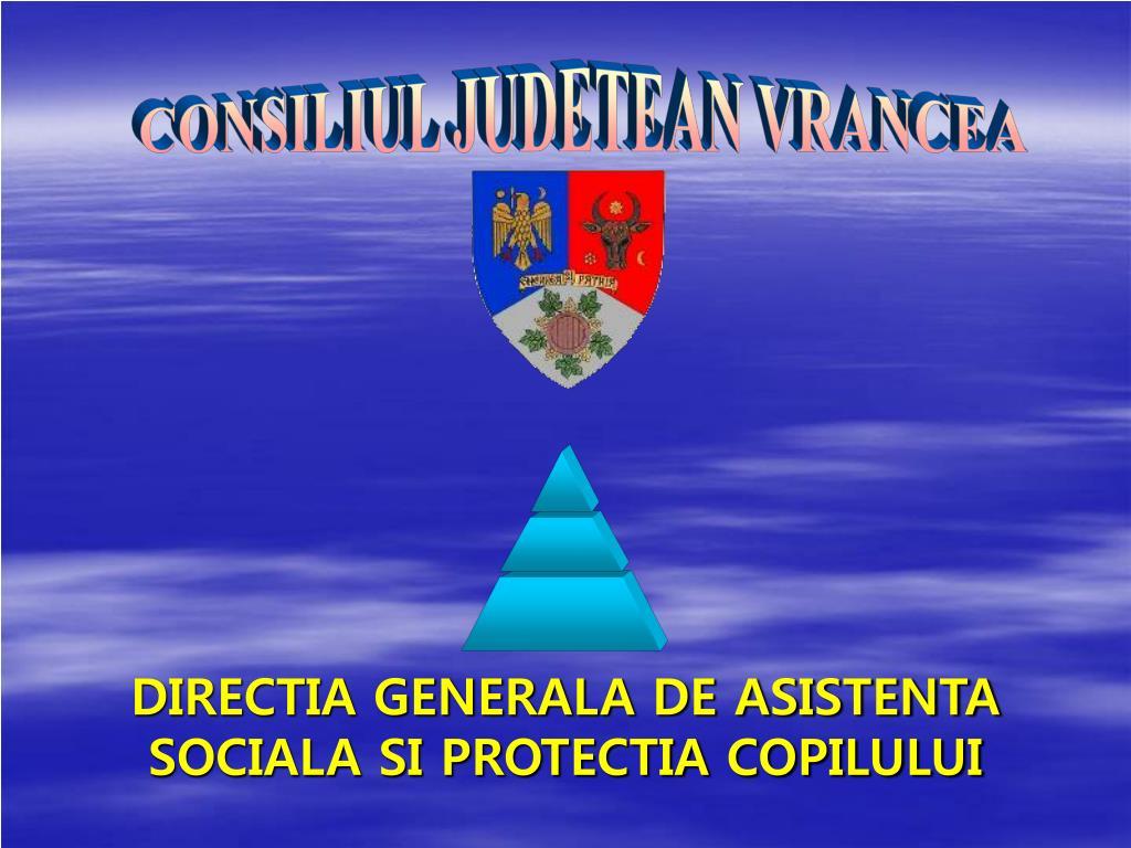 directia generala de asistenta sociala si protectia copilului l.