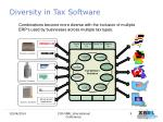 diversity in tax software