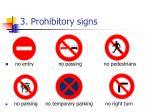 3 prohibitory signs