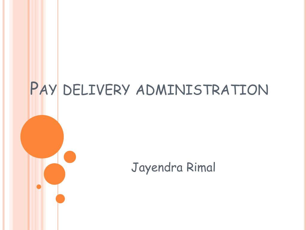 pay delivery administration l.