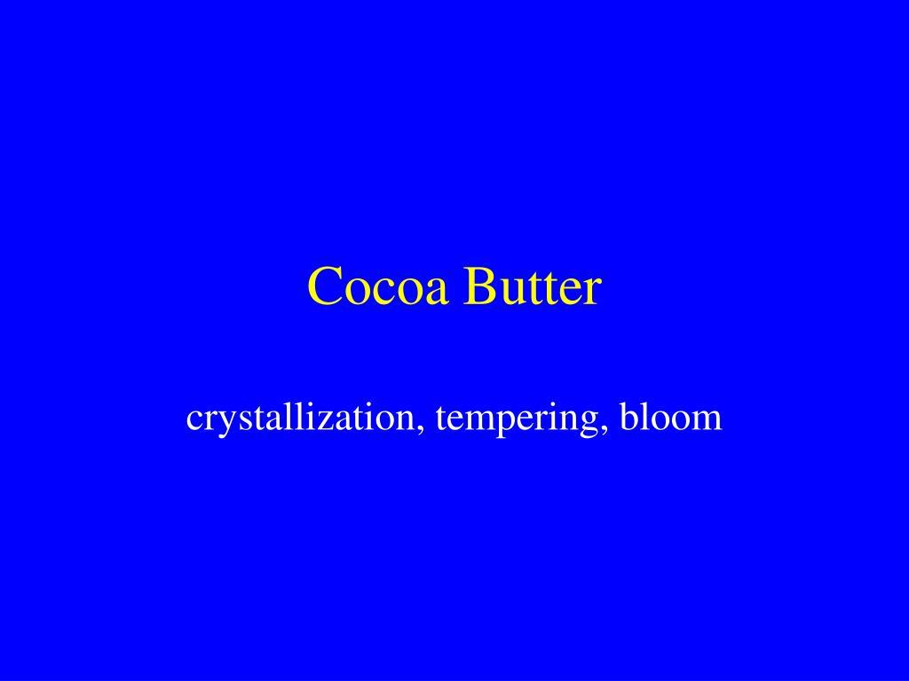 cocoa butter l.