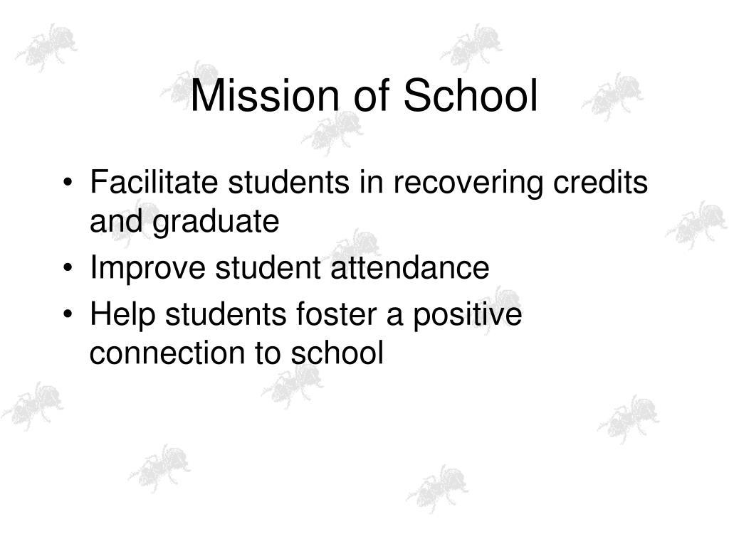 Mission of School
