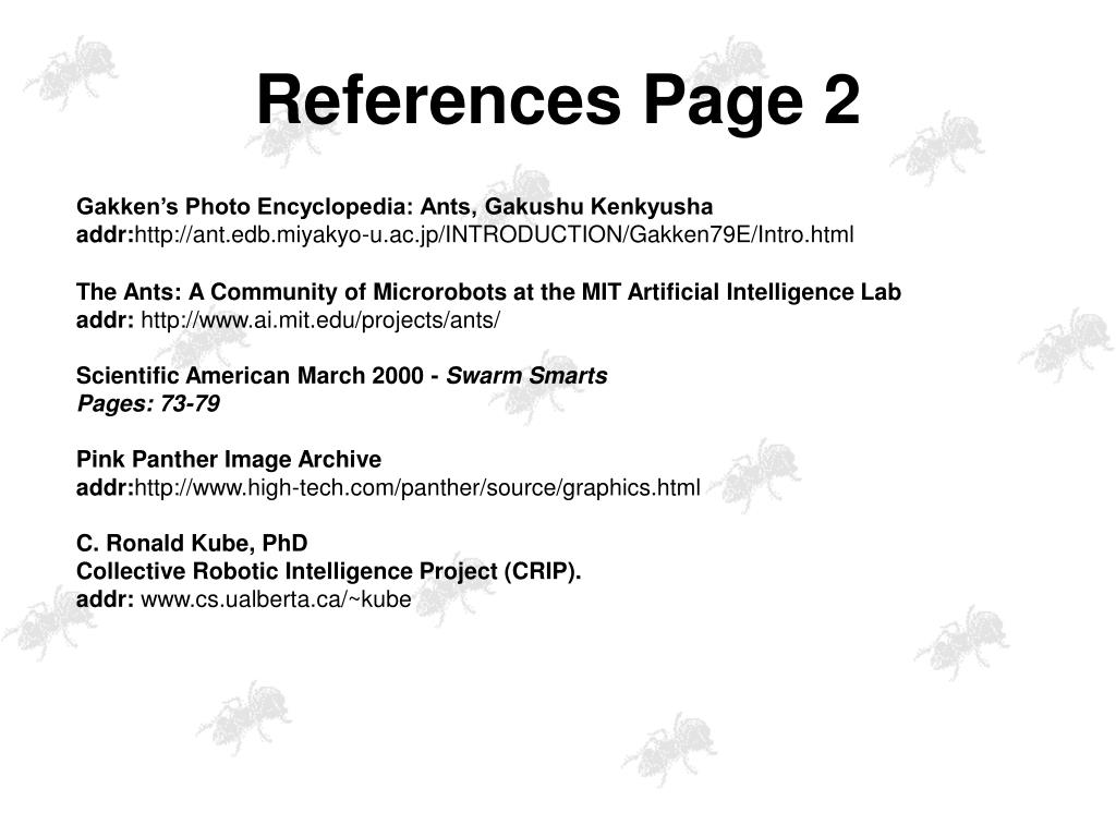 References Page 2