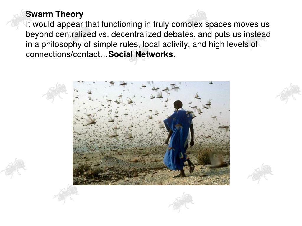 Swarm Theory
