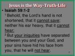 jesus is the way truth life21