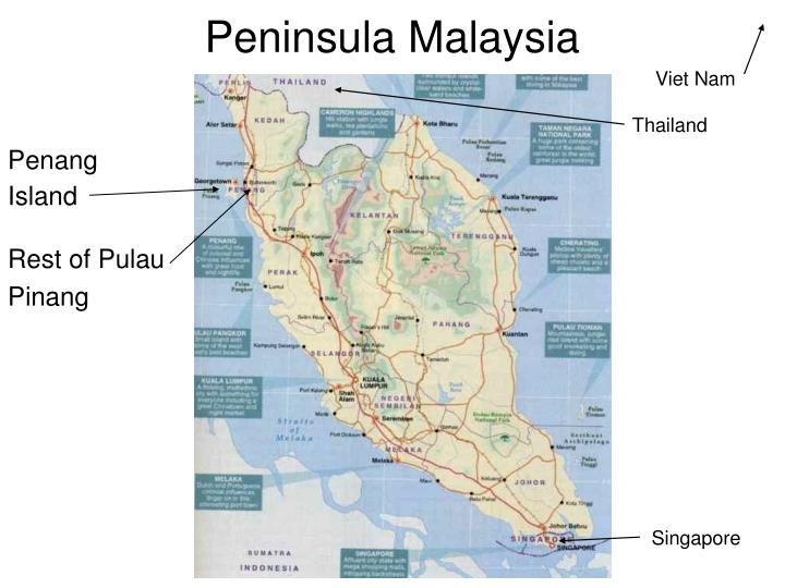 Peninsula malaysia