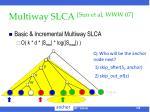 multiway slca sun et al www 07