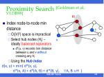proximity search goldman et al vldb98