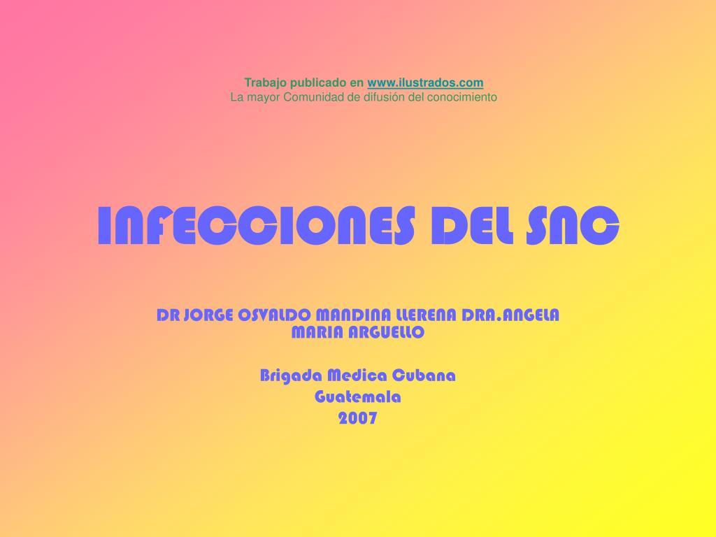 infecciones del snc l.