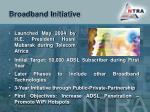 broadband initiative