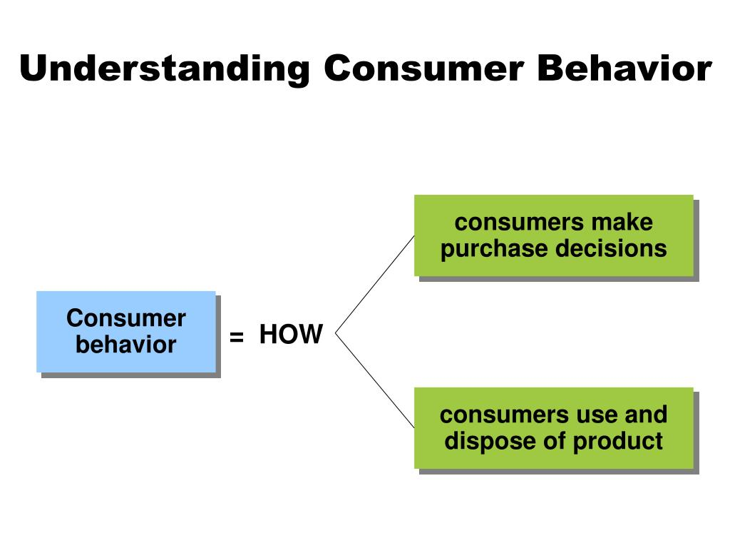consumers make purchase decisions