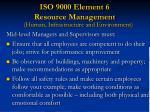 iso 9000 element 6 resource management29