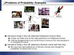 problems of probability examples