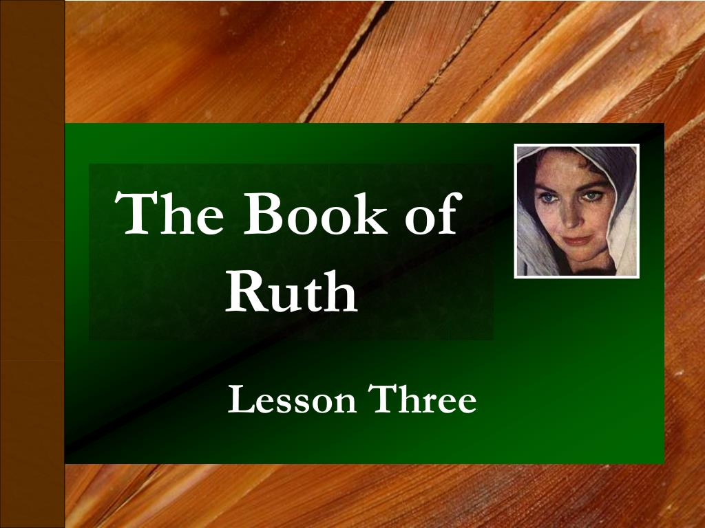 the book of ruth l.