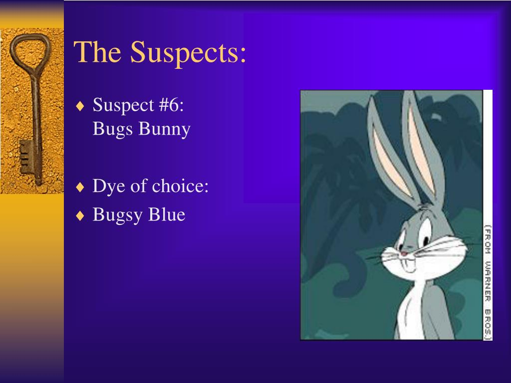 The Suspects: