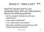 activity 2 does it jive24