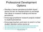 professional development options64
