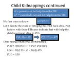 child kidnappings continued