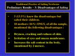 traditional practice of salting newborns preliminary results 3 disadvantages of salting