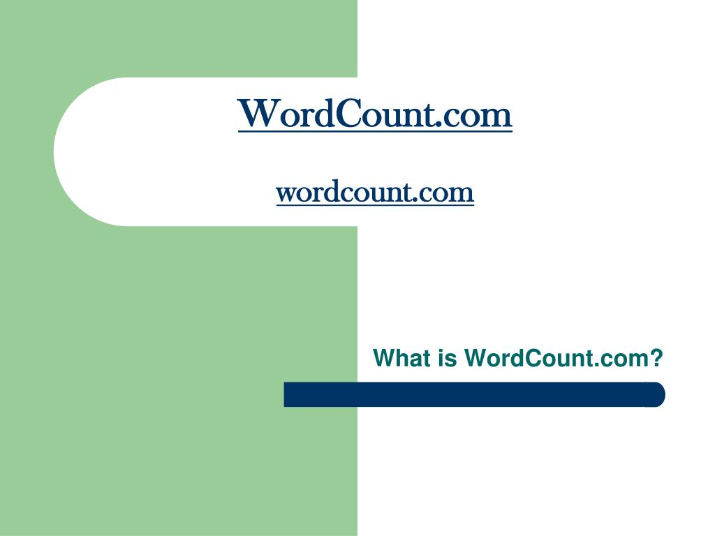 wordcount com wordcount com l.