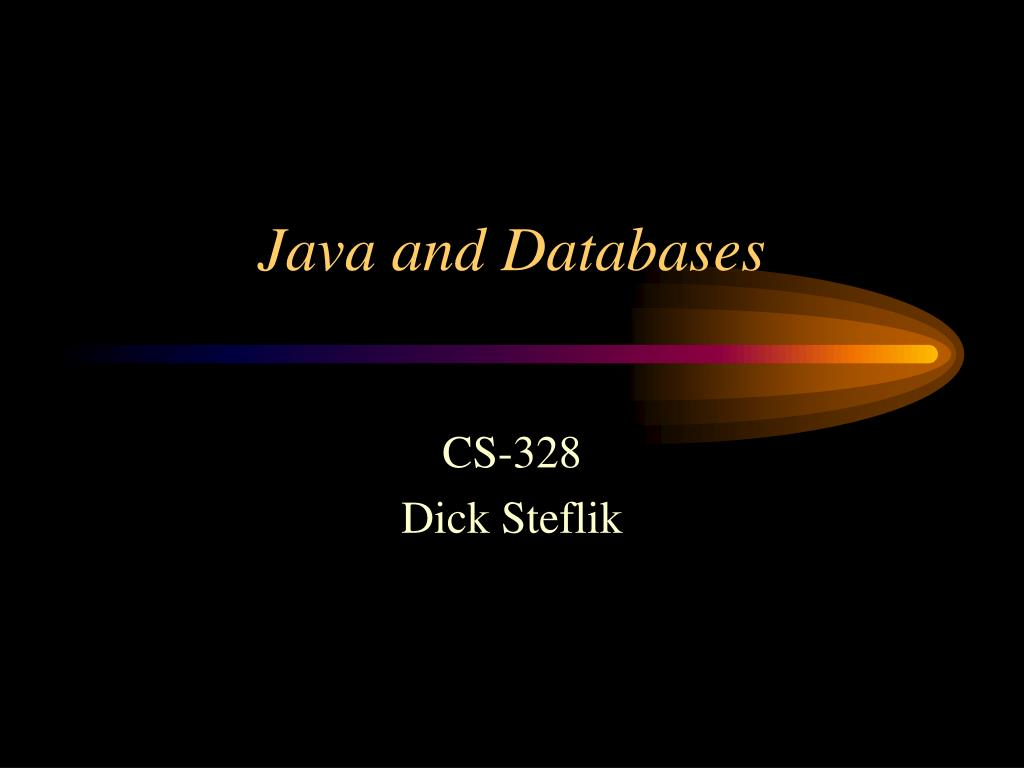 java and databases l.