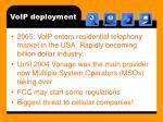 voip deployment