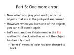 part 5 one more error